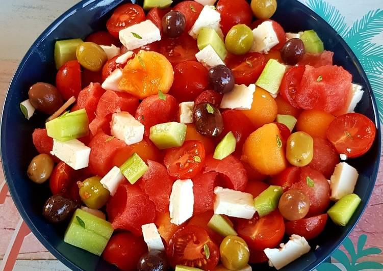 Méli-mélo de légumes d'été