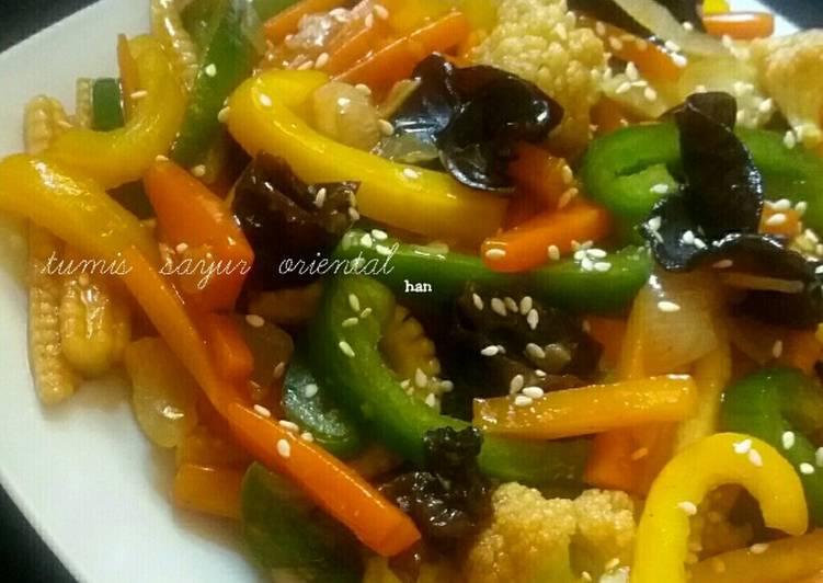 Tumis Sayur Oriental