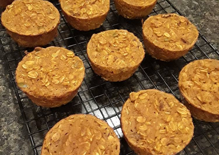 Steps to Prepare Perfect Pumpkin Pie Baked Oatmeal Cups