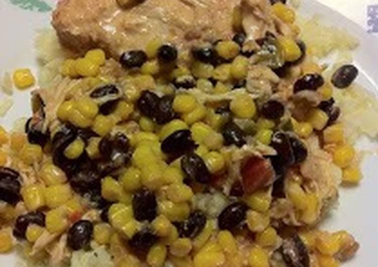 Black Bean Mexican Chicken
