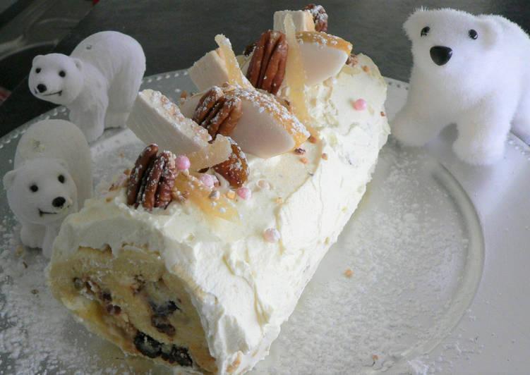 Comment Servir Buche aux 13 desserts de Noël