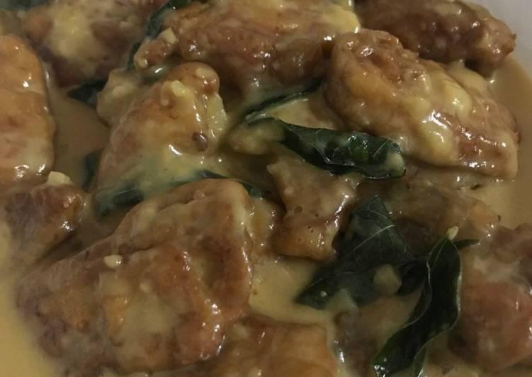 Ayam butter crispy cip cip#MunahMasak