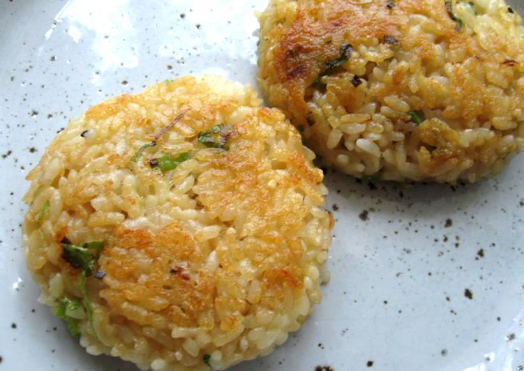 Recipe of Most Popular Pan-fried Butter Soy Onirigi