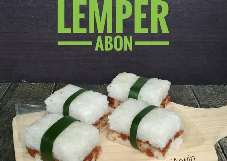 Resep Lemper Abon Simple Oleh Indri Arwin Cookpad