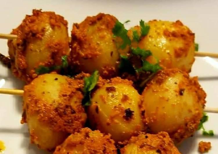 Tandoori Baby Potatoes