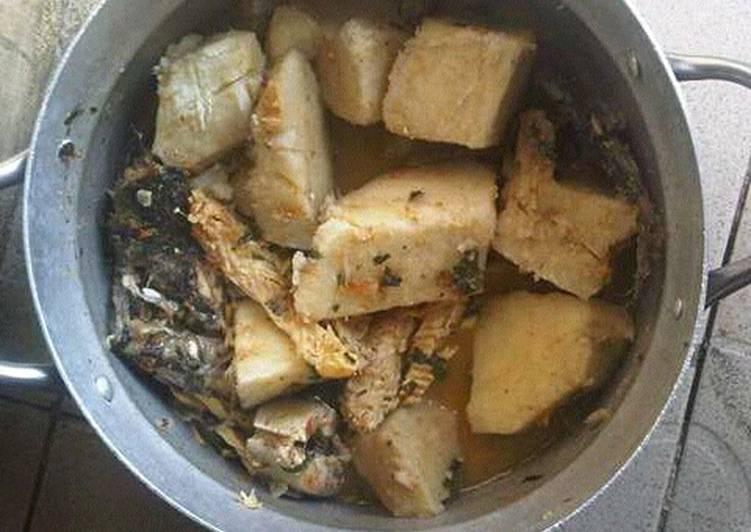 How Long Does it Take to Ji miri oku (yam pepper soup)