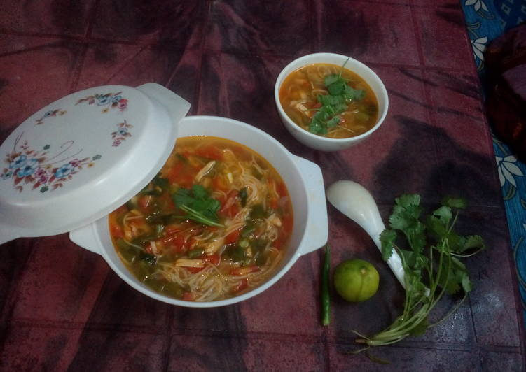 Thukpa(a tasty soup)