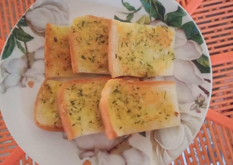 Resep Garlic bread ala De_Ka Bikin Ngiler
