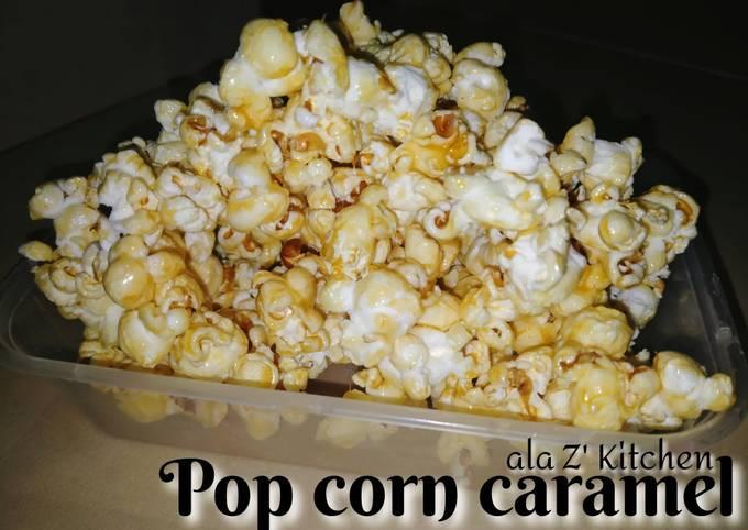 Pop corn (caramel & pedas)