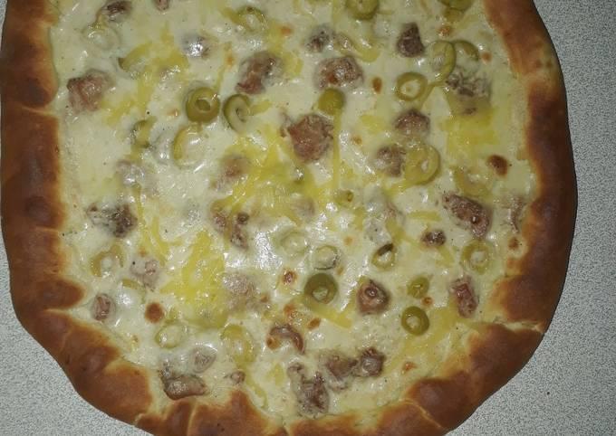 Pizza boisée