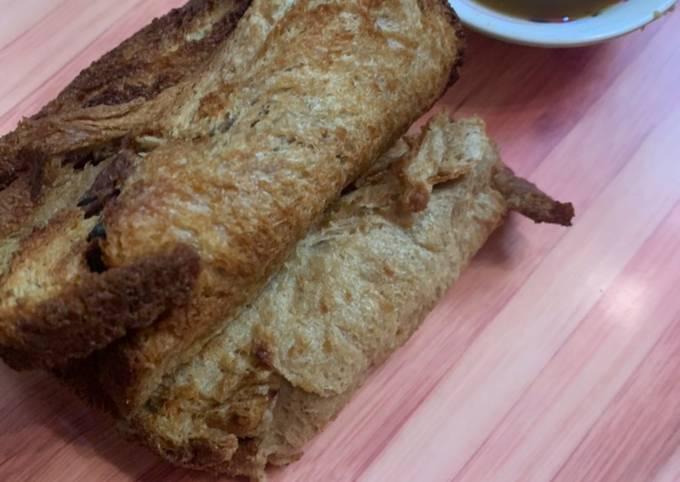 Recipe: Tasty Rajma raw banana bread roll airfryer recipe