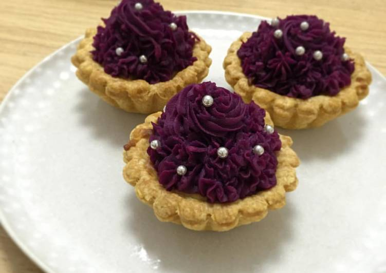 How to Prepare Tasty Sweet Potato Earl Grey tart