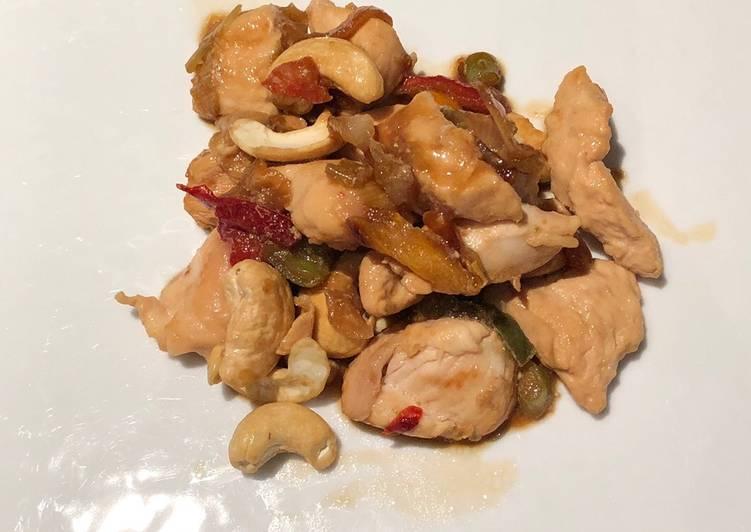 Recette Appétissante Poulet aux noix de cajou