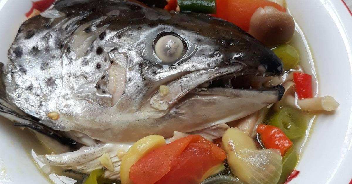 Resep Sup Asam Pedas Kepala Salmon Oleh Sussikurniadhi Cookpad