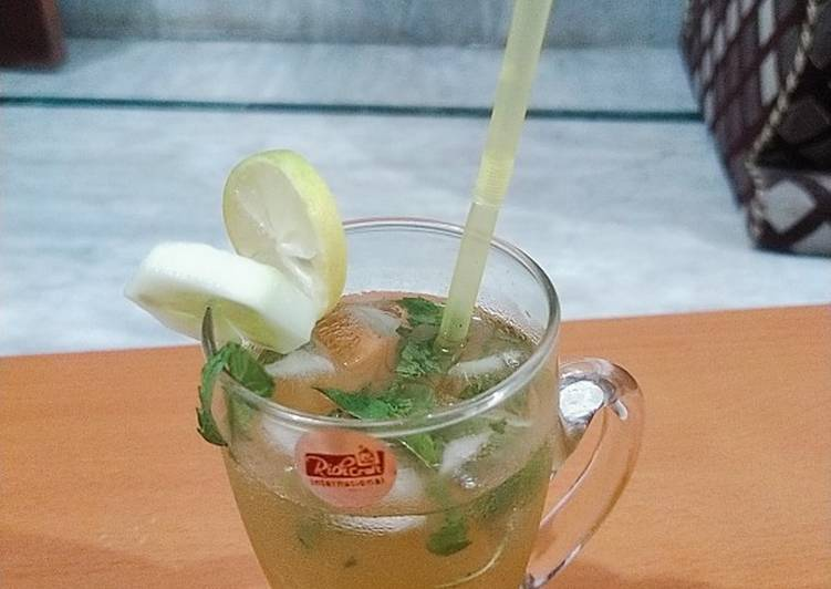 How to Make Award-winning Ginger Mint Ale...(Immunity Booster)