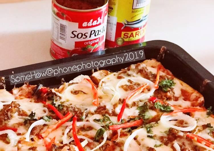 Resepi:  Roti Pizza Mudah  2021