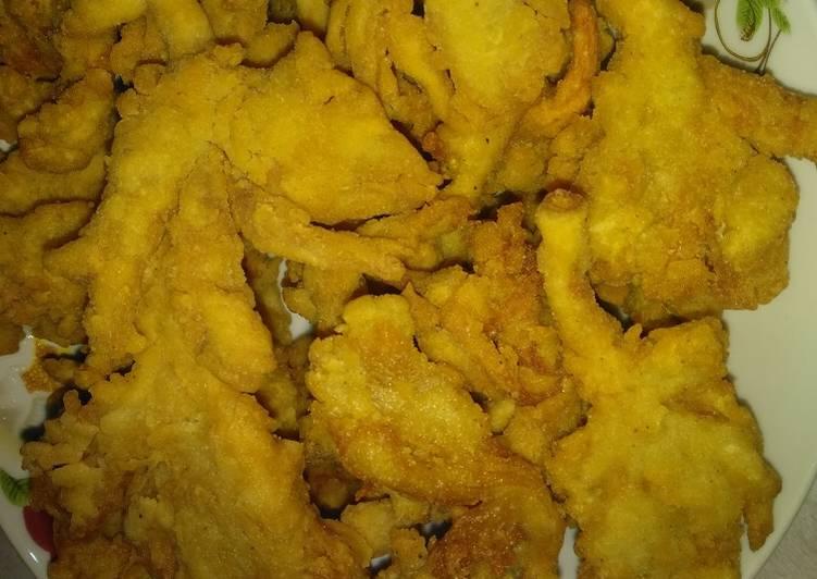 Jamur tiram krispy - cookandrecipe.com