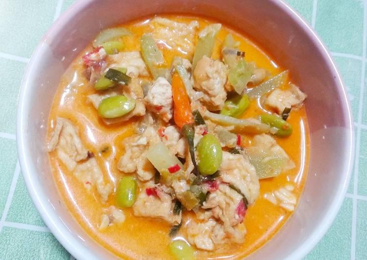 Cara membuat: Sambal goreng labu Siam dan pete