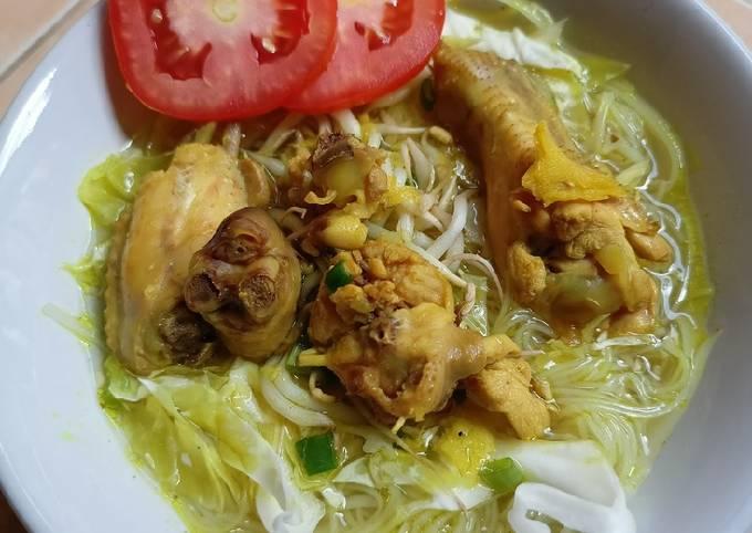 Resep Soto Ayam Simple Nikmat