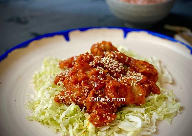 Ayam Goreng Korea Pedas