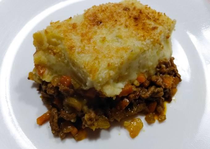 Mince shepherd's pie