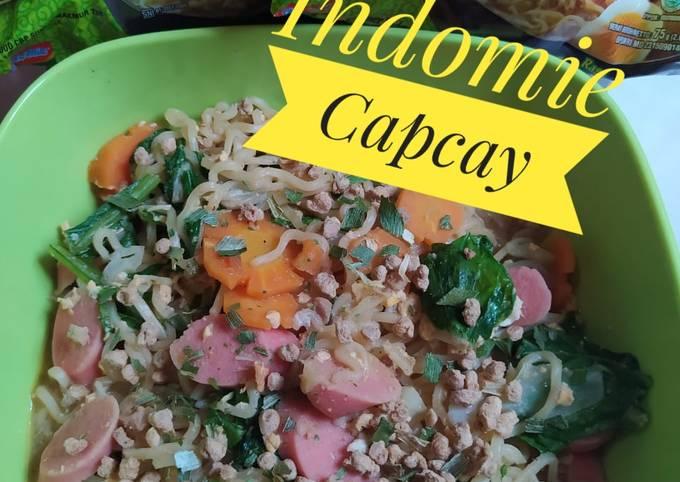 Indomie Capcay (Kreasi Indomie)