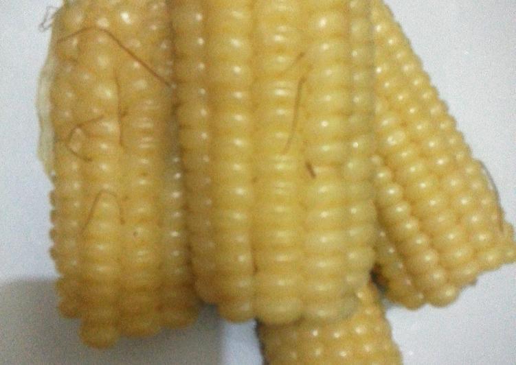 Recipe of Speedy Boiled maize