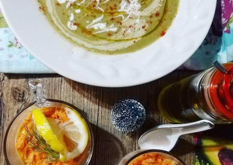 Recette Savoureux Soupe de pois cassés à la Marocaine 🇲🇦🥣(Bissara)