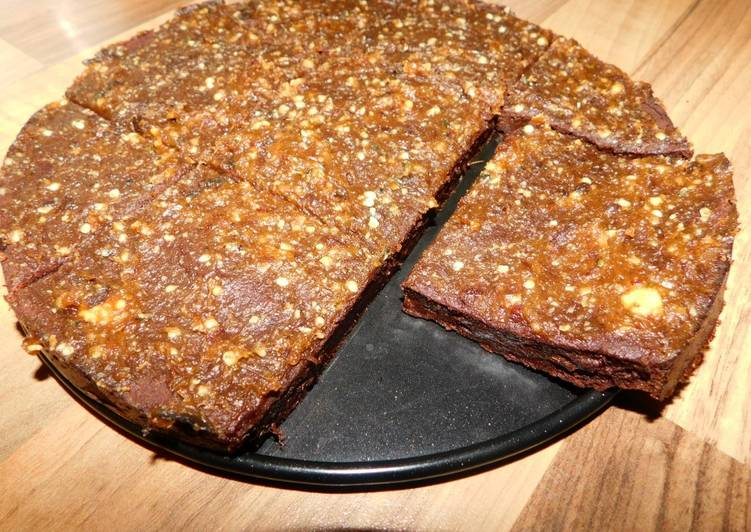 Recipe: Appetizing Vegan Sweet Potato Brownie (oil-free and gluten-free)