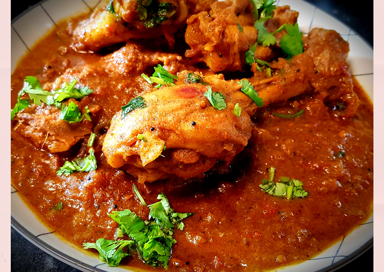 Chettinad pepper chicken curry