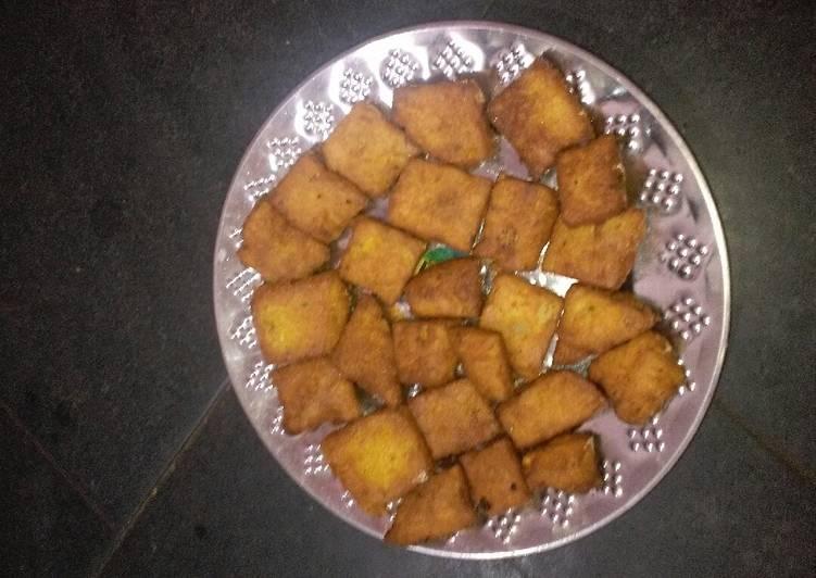 Aloo besan snacks