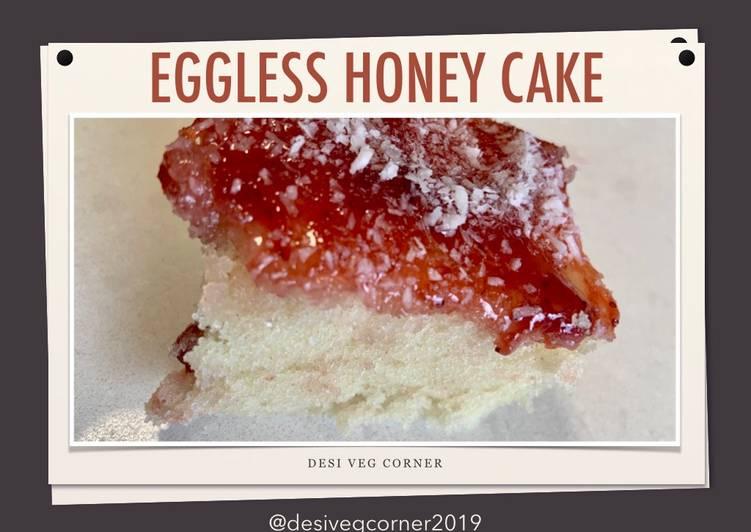 How to Prepare Perfect Honey Cake| How to make Eggless Honey Cake Recipe | Bakery style cake