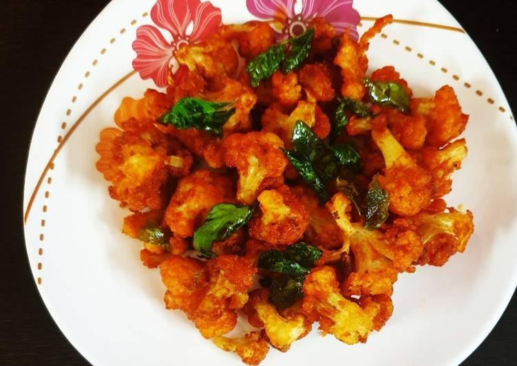 GOBHI FRY / CRISPY CAULIFLOWER FRY