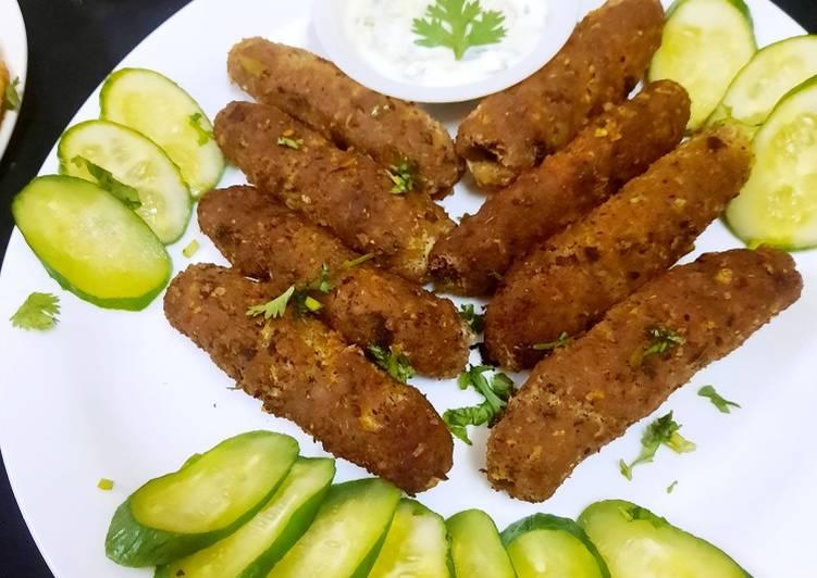 25 Minute Simple Way to Prepare Cooking Seekh kabab