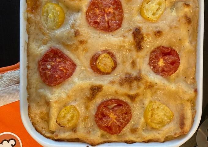 Lasagnes de légumes d'été au thon
