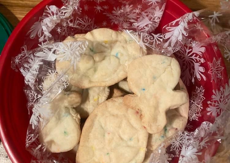 (Hart-made) Christmas cookies. 🙂🎁❄️🎉