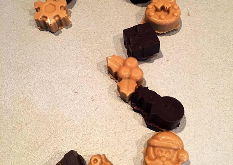 Easiest Way to Prepare Perfect Temperage des chocolats de Noël