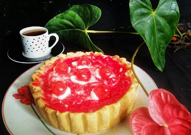 03. Pie Milky Strawberry 🍓