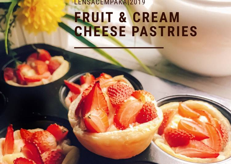 Fruit & Cream Cheese Pastries - resepipouler.com