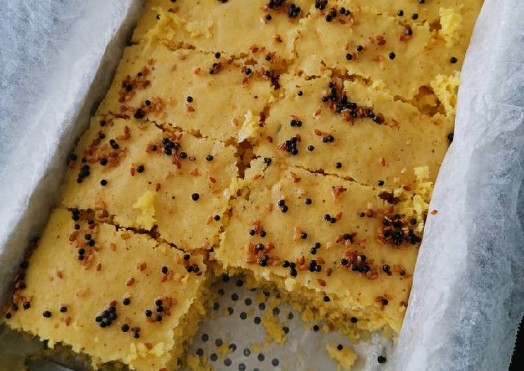 Simple Way to Prepare Top-Rated Savory Steamed Cake