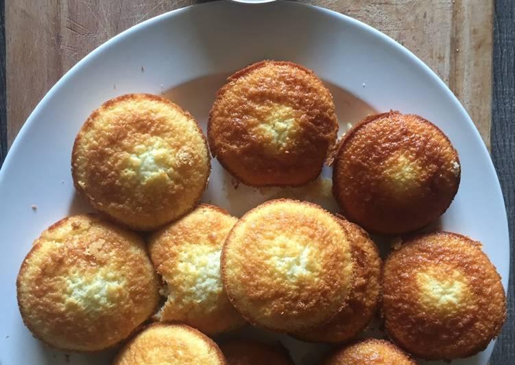 Muffin noix de coco/chocolat  Façon bounty