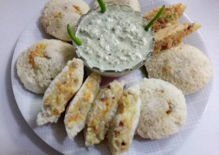 Foods That Make Your Mood Better Potatoes & carrots stuff Idli (Navratri vrat special)