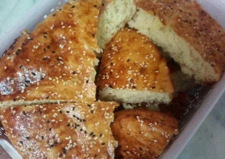 Le moyen le plus simple de Préparer Délicieux Khobz dar (pain maison)