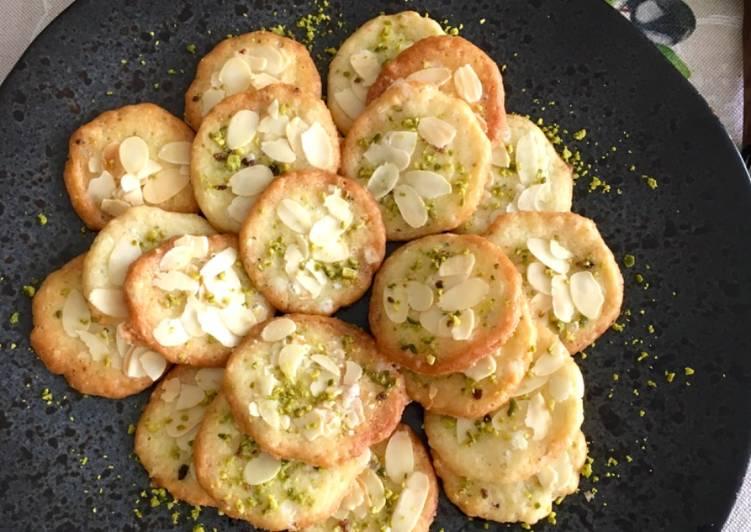 Cookies Almond Pistachio Crispy