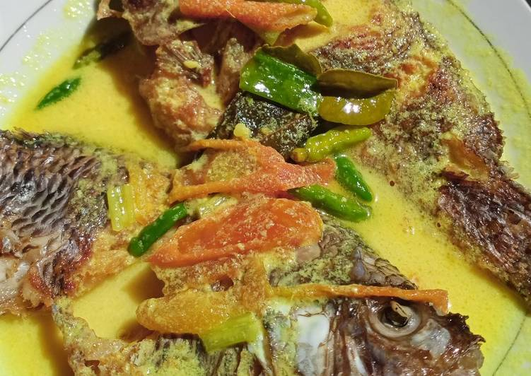 Ikan masak kuning/acar kuning - cookandrecipe.com