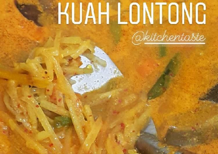 KUAH LONTONG ala Kitchentaste