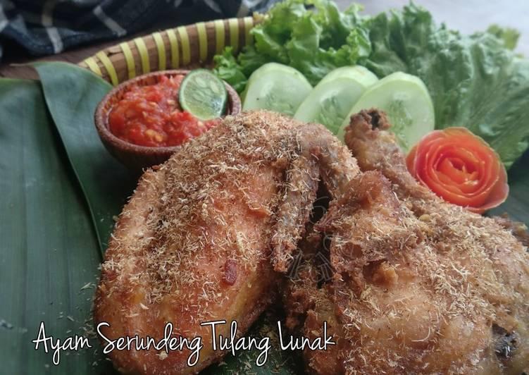 Ayam Serundeng Tulang Lunak
