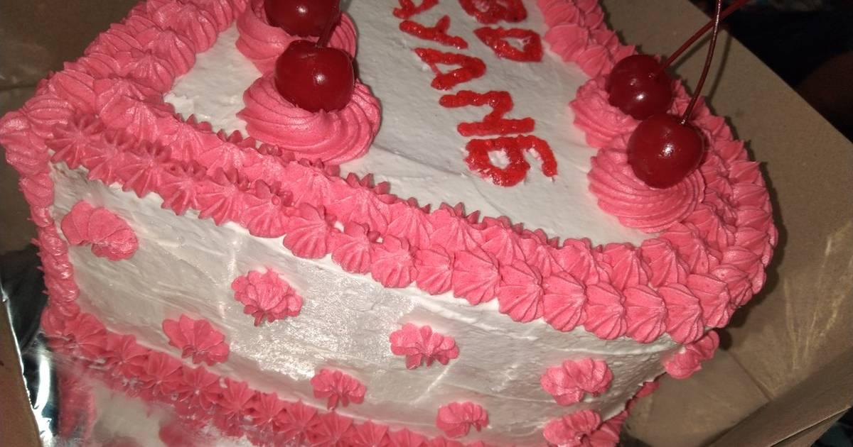 84 Resep Kue Ulang Tahun Love Enak Dan Sederhana Cookpad