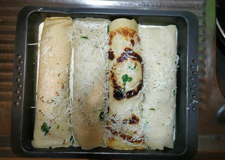 Baked Chicken Crepes