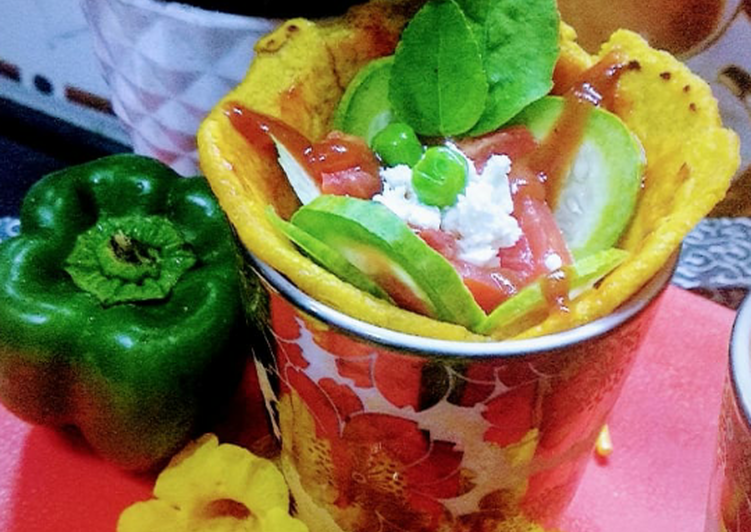 Recipe of Favorite Ratatouille in besan wrap